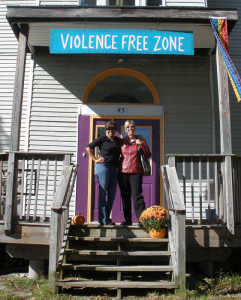 Violence Free Zone!